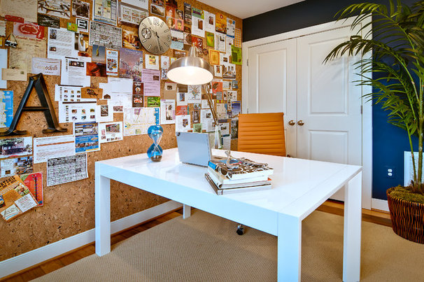 Contemporary Home Office by The Neighborhoods of EYA