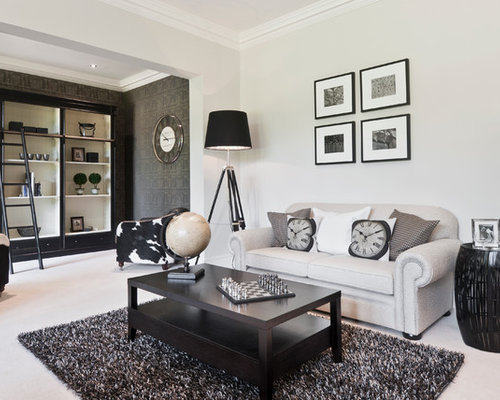 Achromatic Home Design Ideas Pictures Remodel And Decor