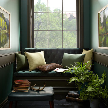 BEHR® 2018 Color Trends Reading Room