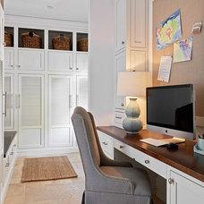Traditional Home Office by Carolina Design Associates, LLC