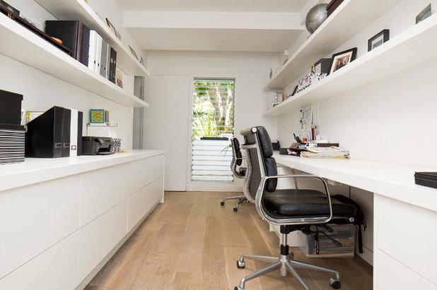 Contemporáneo Despacho by Zugai Strudwick Architects