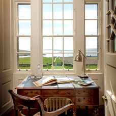 Farmhouse Home Office by Groves-Raines Architects Ltd.
