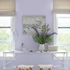 Traditional Home Office by Benjamin Moore