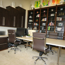 Contemporary Home Office by The Closet Doctor