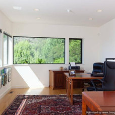 Contemporary Home Office by The Last Inch