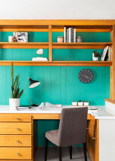 Beach Style Home Office by TVL Creative Ltd.