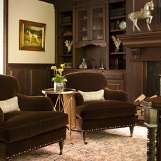 Traditional Home Office by Matthew Frederick - M. Frederick L.L.C.