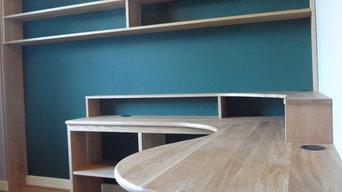 Bespoke Home Study, Docklands, London, UK
