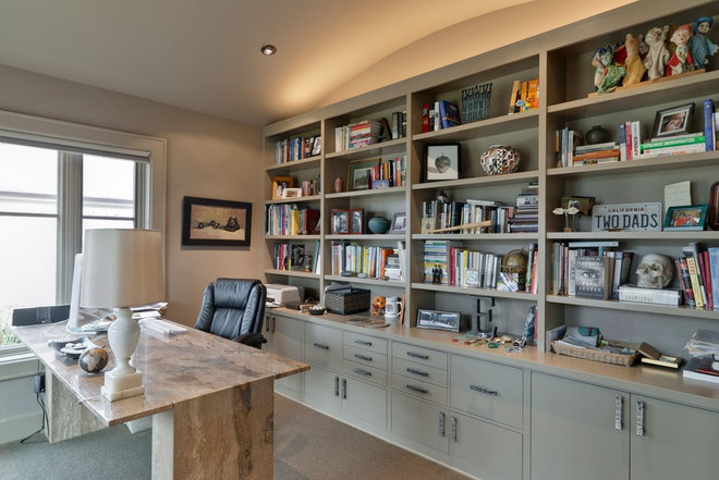 Modern Home Office by Best Cabinets
