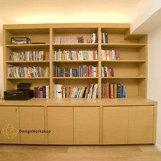 Modern Home Office by Clifton Leung Design Workshop - CLDW.com.hk