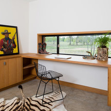Modern Home Office by Progressive Solutions / Renaissance Bronze Windows