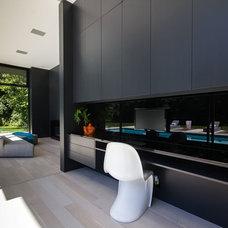 Modern Home Office by Bigfoot Door