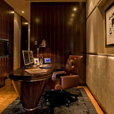Contemporary Home Office by Bill Davies Penny's Mill