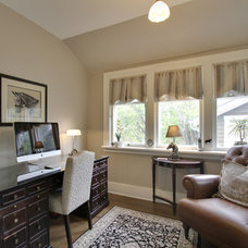 Traditional Home Office by Bilton Design Group