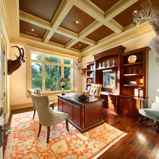 Traditional Home Office by Clifford M. Scholz Architects Inc.