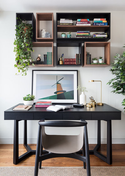 Transitional Home Office by Black and Milk | Interior Design | London