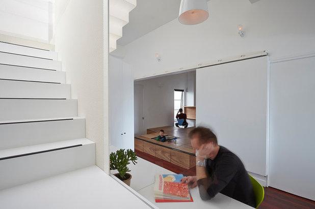 コンテンポラリー ホームオフィス・書斎 by Austin Maynard Architects