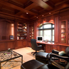 Traditional Home Office by Fuse Architects, Inc.