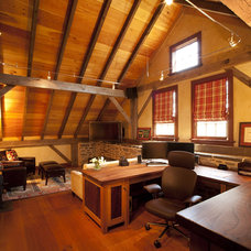 Traditional Home Office by Sullivan Building & Design Group
