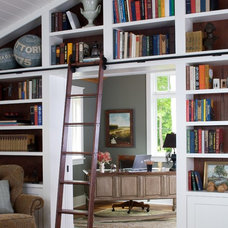 Traditional Home Office by Visbeen Architects