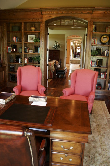 Traditional Home Office by J. Hall Homes, Inc.