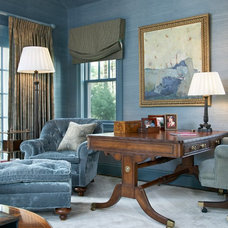 Traditional Home Office by Benson Interiors, Inc.
