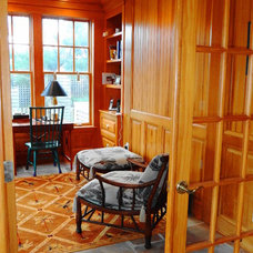 Traditional Home Office by Boardwalk Builders