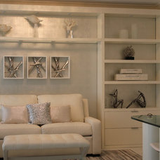 Contemporary Home Office by Barbara Maker Interiors LLC