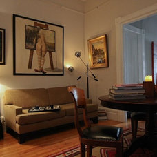 Eclectic Home Office by Ian Stallings