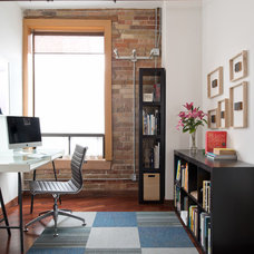 Industrial Home Office by Pause Architecture + Interiors