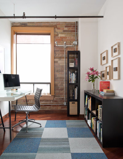 Industrial Home Office by Pause Designs
