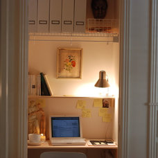Traditional Home Office bonbonliving.com