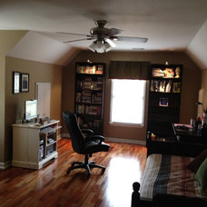 Traditional Home Office Bonus room office/craft room