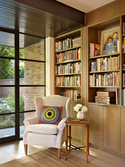 Contemporary Home Office by DeForest Architects