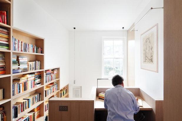 コンテンポラリー ホームオフィス・仕事部屋 by Platform 5 Architects