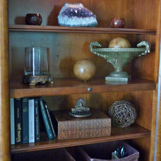 Traditional Home Office by Janice Peters, Distinctive Decor