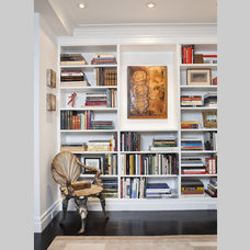Traditional Home Office by Promenade Design + Build