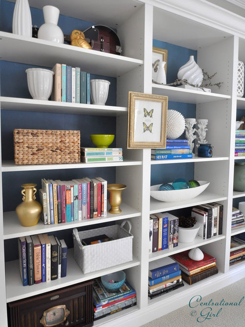 Best Organizing Bookcase Design Ideas & Remodel Pictures | Houzz