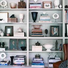 Home Office bookshelf