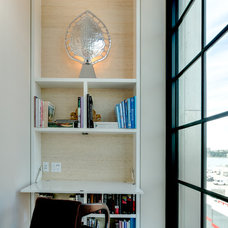 Contemporary Home Office by ZMK Group, Inc