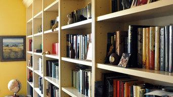 Bookshelves in Northcote