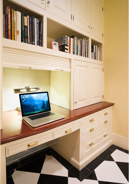 Traditional Home Office by Lee Kimball