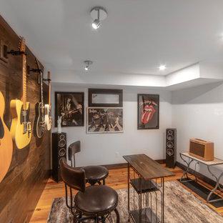 75 Beautiful Rustic Home Studio Pictures Ideas Houzz