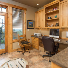 Rustic Home Office by Western Design International