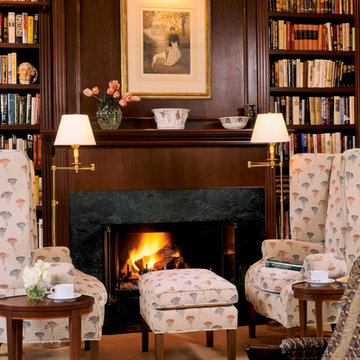 Brentwood Traditional Library Renovation