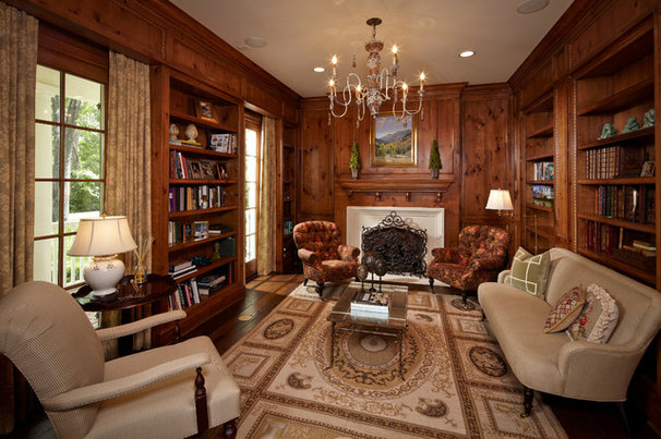 Traditional Home Office by Thompson Custom Homes