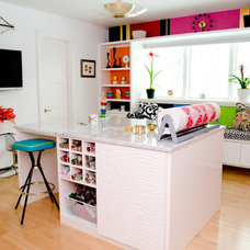 Contemporary Home Office by California Closets of Cincinnati and Dayton