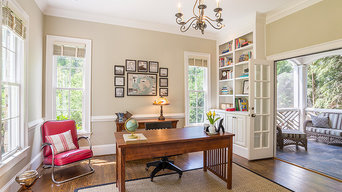 Bright and Open Home Office