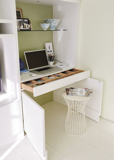 Contemporary Home Office by Neville Johnson Ltd