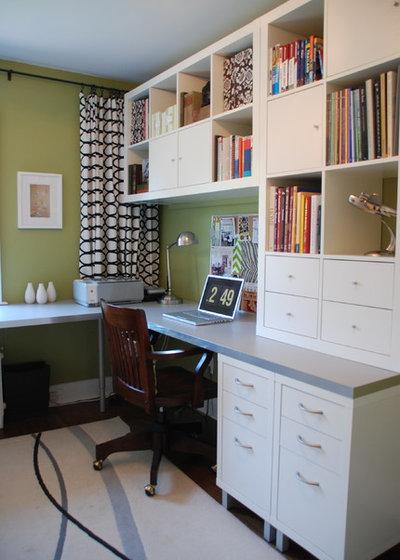 Contemporary Home Office by Jennifer - Rambling Renovators
